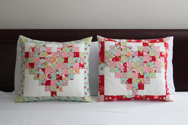 pieced-heart-pillows
