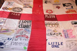 make a t shirt quilt