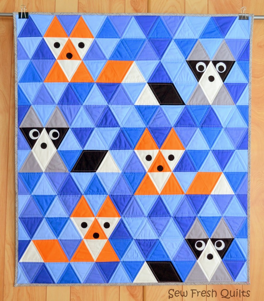 Fox and Friends Quilt - Sew Fresh Quilts Blog